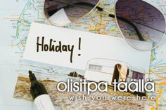 olisitpa täällä ~ wish you were here Learn Finnish, Finnish Words, Finnish Language, Language Study, My Ancestors, Wish You Are Here, Vocabulary, Fun Facts, Nostalgia
