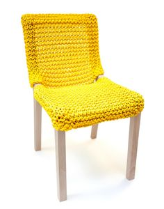 Cord chair Granny by Gérald Wantz