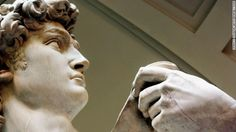 Michelangelos David Sculpture Is The Most Famous Resident Of Florence Italys Galleria DellAccademia