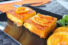 Orange cake with baked pastry and yoghurt. Juicy and fluffy, with a strong flavor of orange and syrupy as much as required to keep it juic. Greek Sweets, Greek Desserts, Lemon Recipes, Greek Recipes, Pastry Recipes, Baking Recipes, Cheesecake Recipes, Dessert Recipes, Candied Orange Slices
