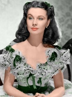 Vivien Leigh in Gone With the Wind.