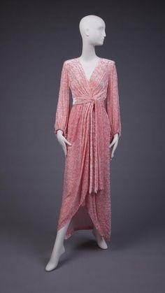 "omgthatdress: "" Hostess Gown Yves Saint Laurent, 1965 The Goldstein Museum of Design """