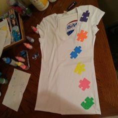 DIY Autism shirt