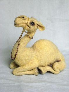 I will make this item for your order image 3 Needle Felted Animals, Felt Animals, Camel Craft, Lamas, Camelo, 3d Figures, Needle Felting Tutorials, Wet Felting, Felt Toys