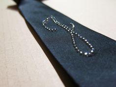 #tie #blacktie #mansfashion #men #swarovsky #cristal #pigal #pigalboutique