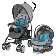 Chicco Neuvo Travel System - Vapor  Lightweight, good quality travel system, chicco is good for tall parents too.