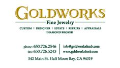 Here's GoldWorks' Business Card! Get yours from Hershel Barg & Associates today! Call us at Business Cards, You Got This, Visit Cards, Name Cards