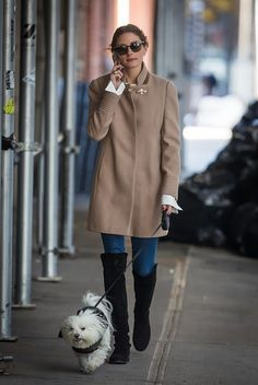 THE OLIVIA PALERMO LOOKBOOK: Olivia Palermo in New York.