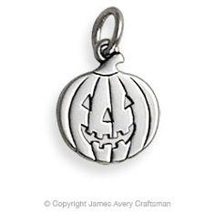 Jack O'Lantern Charm from James Avery Jewelry