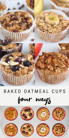 Healthy Breakfast Recipes, Healthy Baking, Easy Healthy Recipes, Healthy Foods, Dinner Healthy, Eating Healthy, Health Recipes, Healthy Sweets, Healthy Nutrition