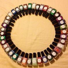 My Lynnderella collection #lynnderella #nailpolish #glitterpolish #glitter #nailartclub #nailartaddict - @sindel82- #webstagram