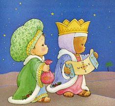 Pasitos de Colores: HISTORIA DE NAVIDAD Christmas Bible, Christmas Nativity, Christmas Clipart, A Christmas Story, Christmas Holidays, Christmas Decorations, Diy For Kids, Crafts For Kids, Three Wise Men