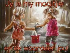 Vintage Pictures, Pretty Pictures, Little Girl Rooms, Little Girls, Goeie Nag, Goeie More, Afrikaans Quotes, Bible For Kids, Sister Love