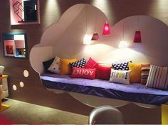 Perfect teen room. Love it.