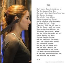 I love this Divergent poem, exactly captures why I love Tris