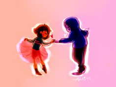 "ok but vvv tiny frisk getting sans to dance with them and then surprise surprise (bc im' a sucker for happy pacifist!frisk and dunkle sans) they just keep doing it and one day they realize ""holy shit frisk is taller than sans"" and they trip over one another and goDDAMMIT GIVE ME MORE PLATONIC FLUFF BETWEENT HEESE TWO"