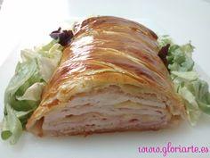 Cocina Gloriarte: Hojaldre de pollo