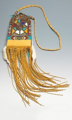 Purse with Leather Fabric and Seed Beads - Fire Mountain Gems and Beads