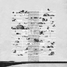 Hanging Gardens – Seven Series, Miles Gertler 2013 Architecture Board, Architecture Graphics, Architecture Drawings, Landscape Architecture, Landscape Design, Architecture Design, Installation Architecture, Chinese Architecture, Photomontage