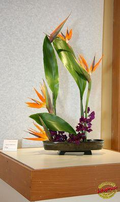 Rhapsody - Ikebana International Exhibition 2009 - Andrée Kordich - KORYU SHOTOKAI C20090425 050 | Flickr - Photo Sharing!