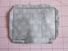 I've been working on many pouches lately and I thought it would be fun to write a tutorial for one of them. A few days ago I needed a smal...