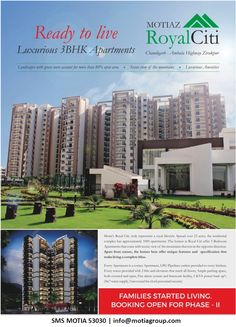 Ready to Live Luxurious 3BHK Apartments https://motiagroup.wordpress.com/ready-to-live-luxurious-3bhk-apartments/ … via @wordpressdotcom