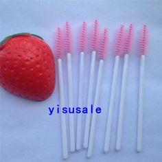 Wholesale pice 1000pcs/lot Women Disposable Mascara Wands Applicator eyelash tools