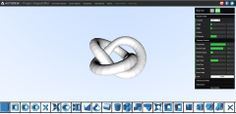Create a 3D Object via browser...