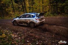 David Higgins and Craig Drew won the 2013 Rally America National Championship at the Lake Superior Performance Rally.