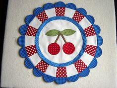 Cherry Blossom Marmalade Quilt Block - Quilting Digest