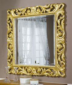 Italian-Style-Furniture-Made-in-Italy-1017-S-SQUARE-MIRROR