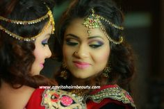 Spend a good amount in makeup also like all other arrangements of a marriage. Money will come again but wedding time will not be back again in your life. So meet the best Makeup Artist for Bridal Makeup, Anu Sen at http://www.amritshairnbeauty.com, or call: 9461088831
