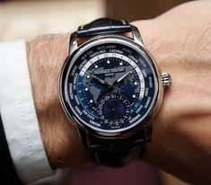 Frédérique Constant Worldtimer Watch Hands-On: Feeling Blue