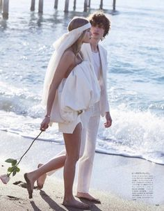 Brooke Perry Wears Unconventional Bridal Looks for Vogue Japan Wedding Bridal Looks, Bridal Style, Vogue Bride, Most Beautiful Wedding Dresses, All White Wedding, Vogue Japan, Nontraditional Wedding, Weird Fashion, Victoria Secret Fashion Show