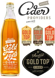 Simon Walker's branding makes cider look all the more delicious