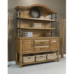 Coronado Sideboard w/ Sideboard Hutch, Panama Jack Furniture, Coronado Collection