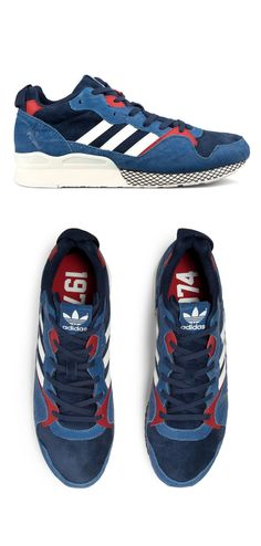 adidas Originals ZXZ 930: Blue/Navy/Red