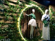 Maje windows at Selfridges. Photographed by after l nine