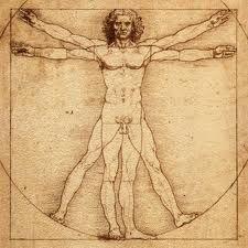Da Vinci- hombre de vitruvio