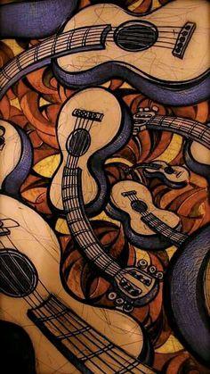Guitarras curvas