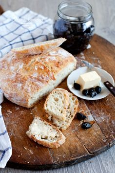salted lemons: No knead bread