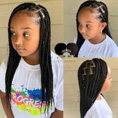 Braids for Kids - 100 Back to School Braided Hairstyles for Kids Braids for Kids - 100 Back to Schoo Black Kids Hairstyles, Baby Girl Hairstyles, Natural Hairstyles For Kids, Kids Braided Hairstyles, African Braids Hairstyles, Little Girl Braid Hairstyles, Children Hairstyles, Toddler Hairstyles, Back To School Hairstyles