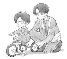 Levi and Eren // AoT