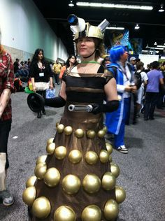 A Dalek dress - so cool!