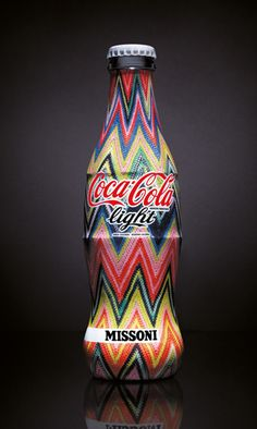 Missoni Coca Cola bottle design