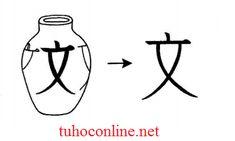 Học chữ Kanji bằng hình ảnh文、英 、質 - tuhoconline.net