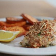 Panko and Fresh Herb Crusted Chicken Breasts Truth be told, my family grows weary of … Clean Eating Recipes, Cooking Recipes, Parmesan Crusted Chicken, Chicken Panko, Foods With Gluten, Fresh Herbs, Favorite Recipes, Stuffed Peppers