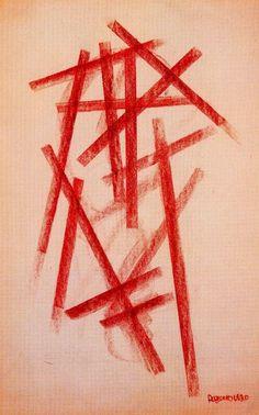 Alexander Rodchenko, 1920, Linear Composition \ A exploração de materiais para a renovação de linguagens e das expressões. Sintetização. A abstração.