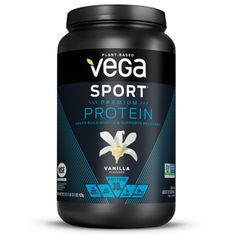 shake to gain muscle vanilla Vega Sport Premium Plant Protein Powder, Vanilla, Protein, Best Vegan Protein Powder, Protein Powder For Women, Best Protein, Sunflower Seeds Protein, Bad Room Ideas, Cherry Tart, Plant Based Protein, Sports Nutrition, Gain Muscle