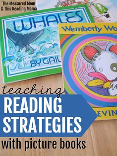Teaching reading strategies can feel overwhelming. Thankfully, this series shows you how to teach reading strategies with picture books - with sample lessons and free printables! #readingstrategies #kindergarten #firstgrade #secondgrade